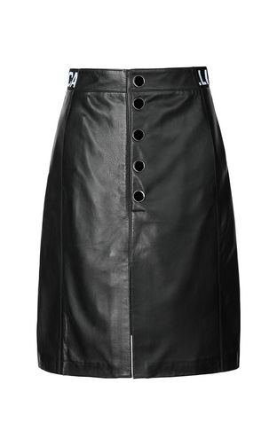 JUST CAVALLI Leather skirt Woman Leather skirt f