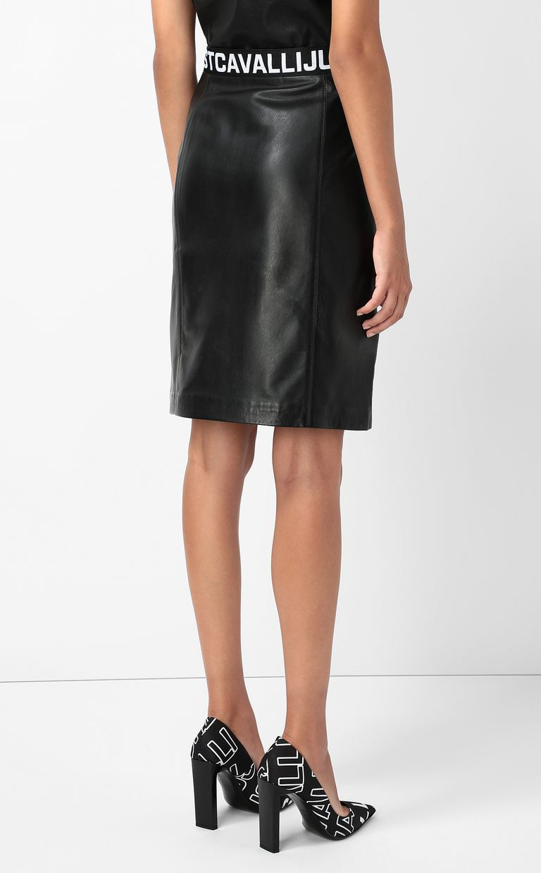 JUST CAVALLI Leather skirt Leather skirt Woman a