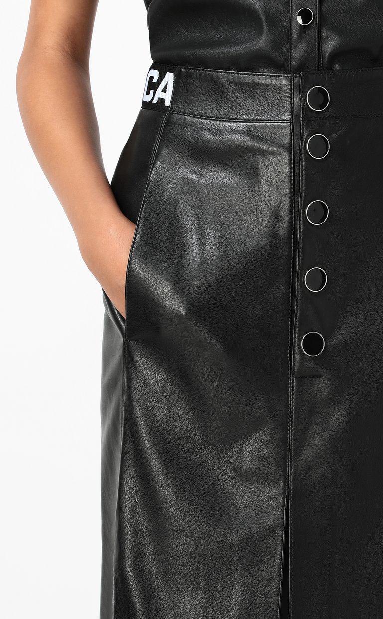 JUST CAVALLI Leather skirt Leather skirt Woman e