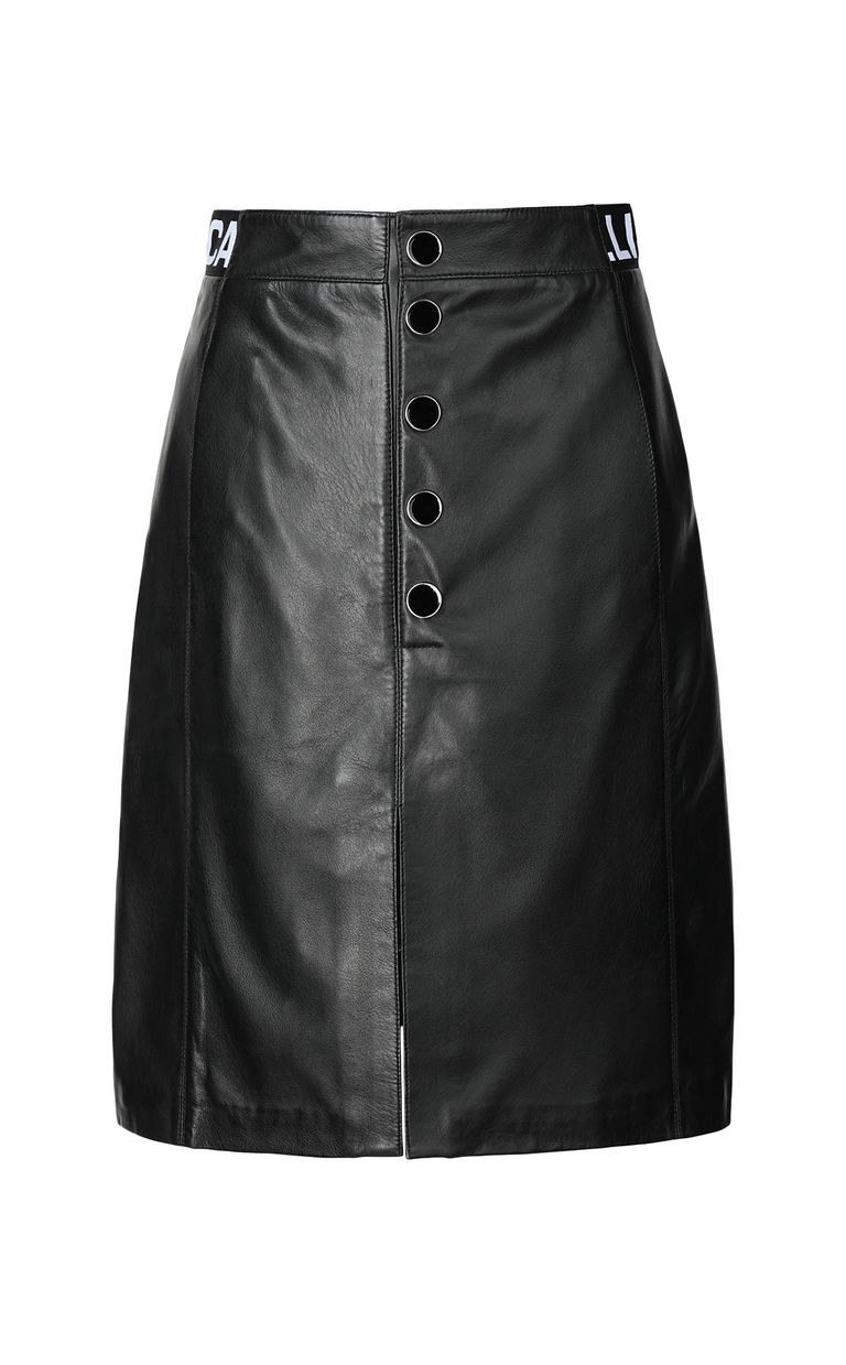 JUST CAVALLI Leather skirt Leather skirt Woman f