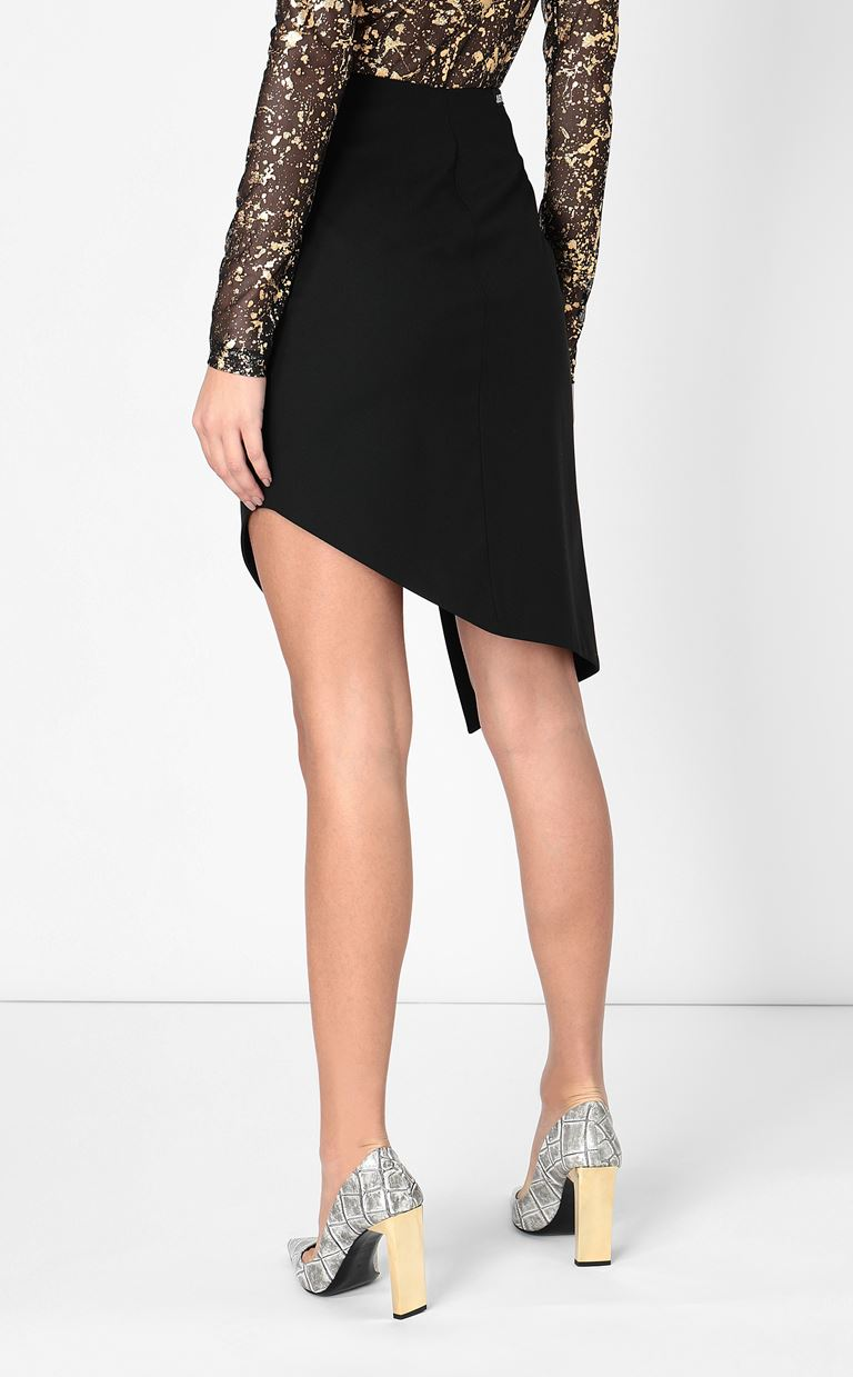 JUST CAVALLI Pencil skirt with studs Mini skirt Woman a