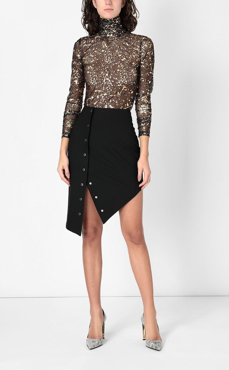 JUST CAVALLI Pencil skirt with studs Mini skirt Woman d