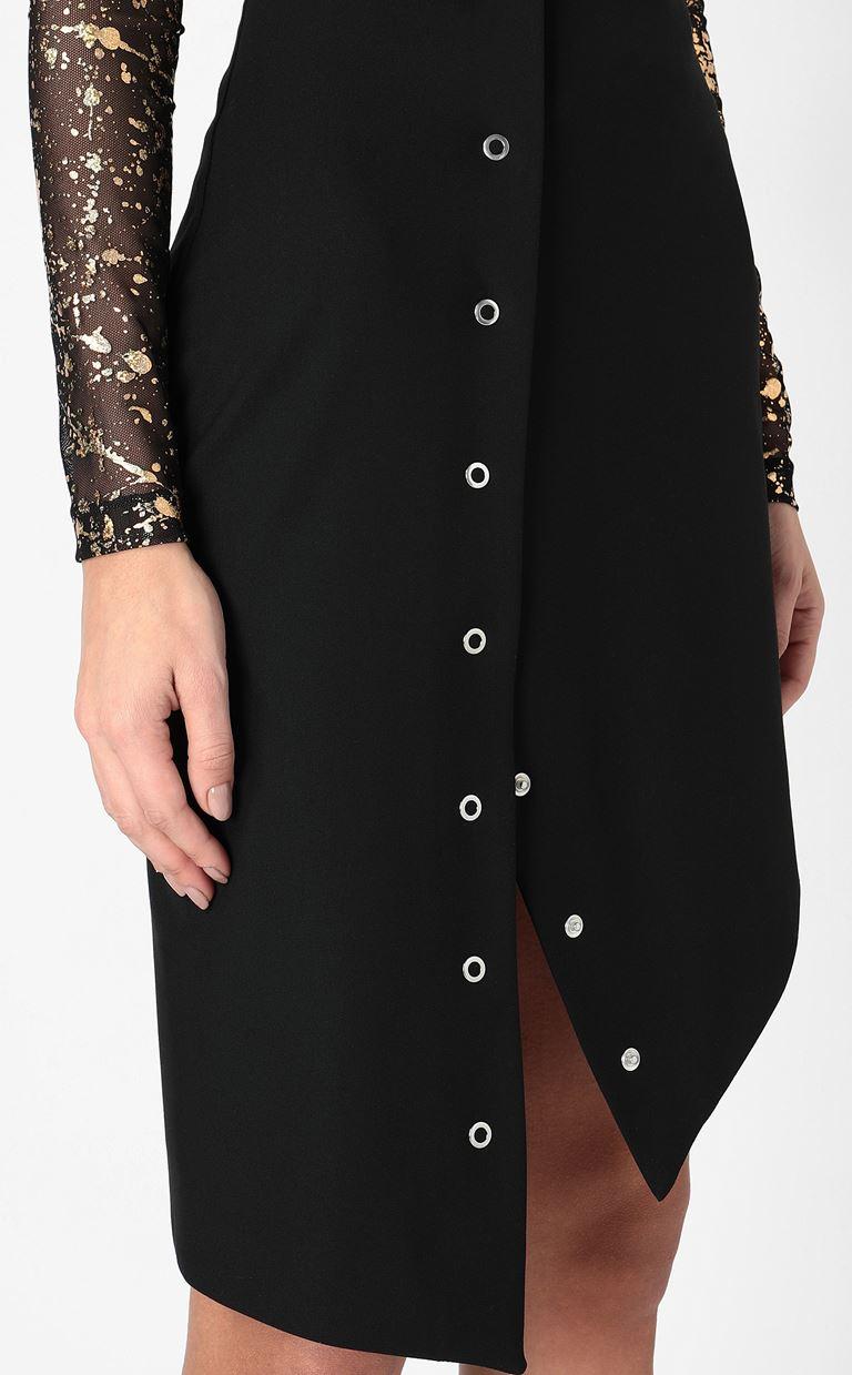 JUST CAVALLI Pencil skirt with studs Mini skirt Woman e