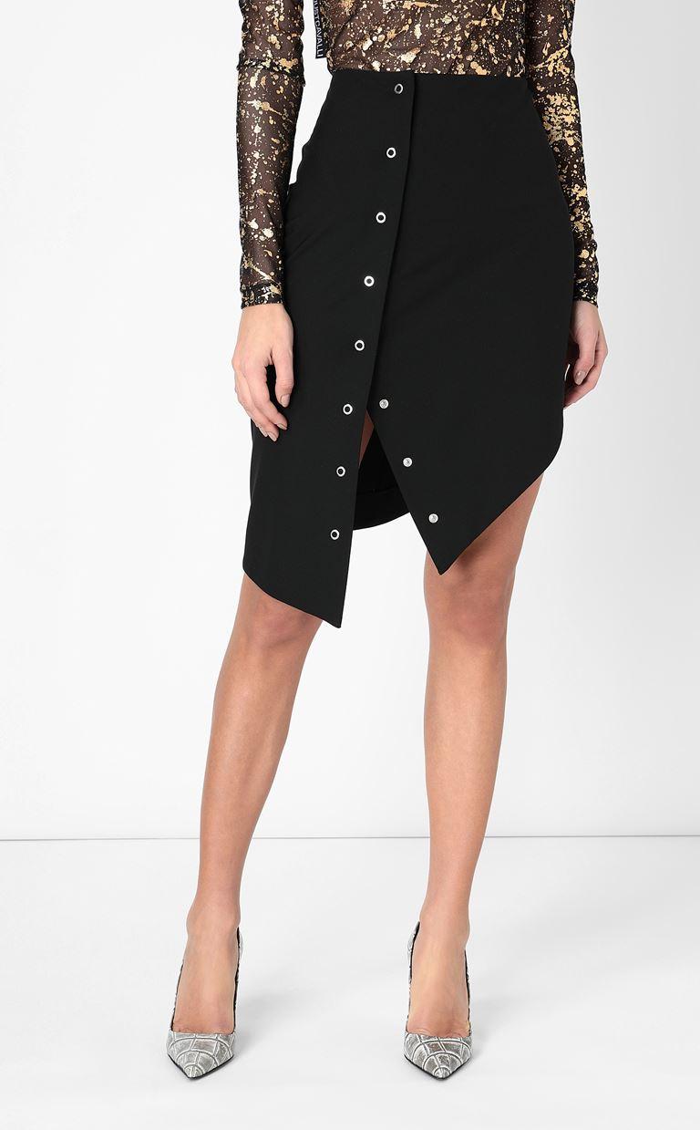 JUST CAVALLI Pencil skirt with studs Mini skirt Woman r