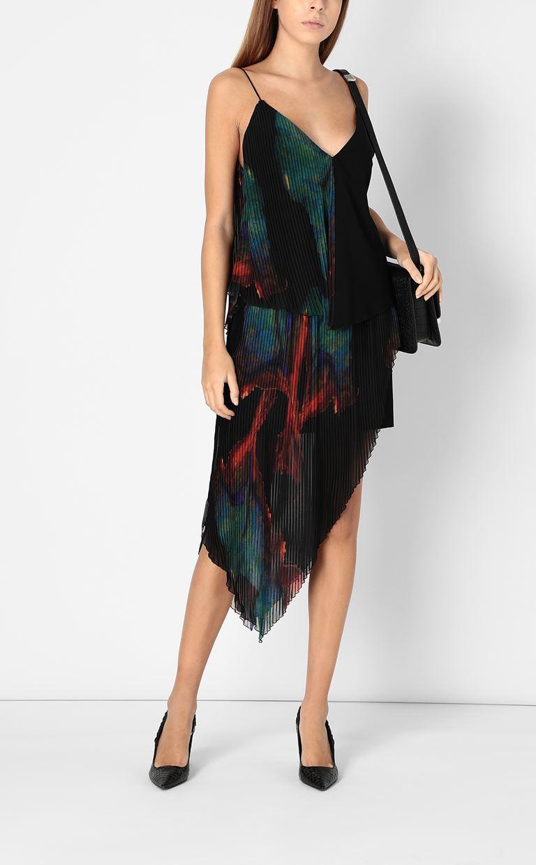 JUST CAVALLI Skirt with floral print design Skirt Woman d