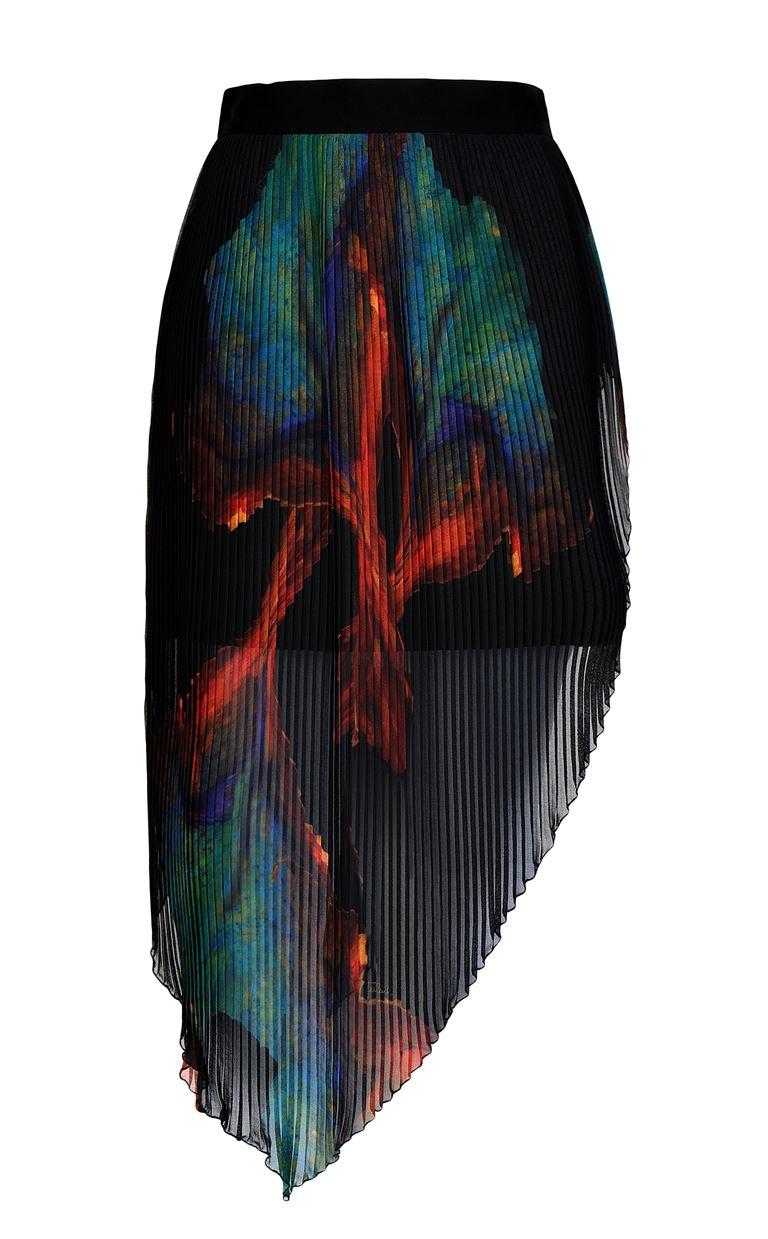 JUST CAVALLI Skirt with floral print design Skirt Woman f