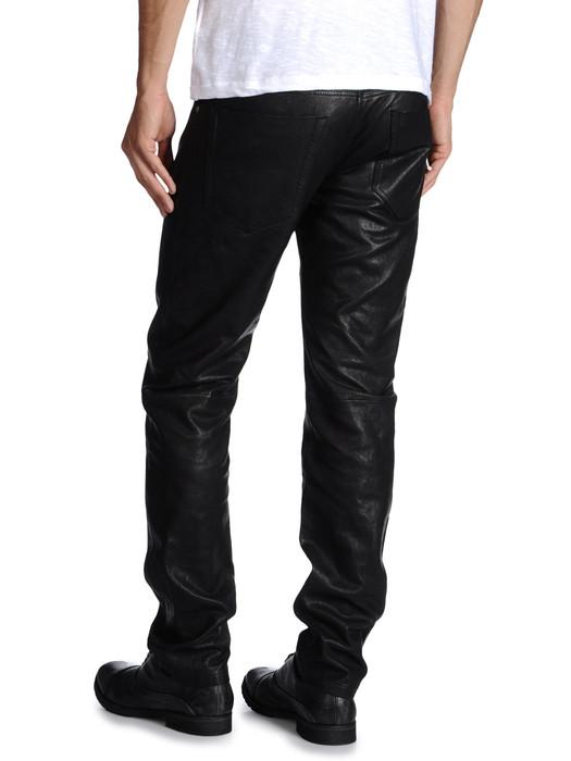 DIESEL PERUNLEATHER Pantaloni U b