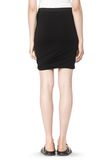 T by ALEXANDER WANG CLASSIC MICRO MODAL SPANDEX TWIST SKIRT Skirt/DEL Adult 8_n_a