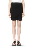 T by ALEXANDER WANG CLASSIC MICRO MODAL SPANDEX TWIST SKIRT Skirt/DEL Adult 8_n_d