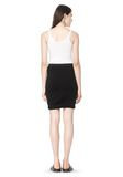 T by ALEXANDER WANG CLASSIC MICRO MODAL SPANDEX TWIST SKIRT Skirt/DEL Adult 8_n_r