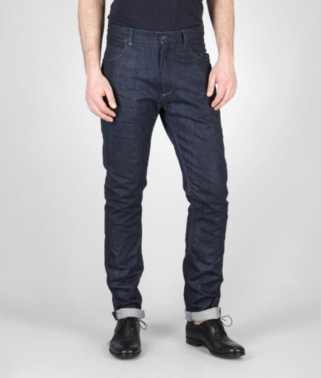 BOTTEGA VENETA Tapered Denim Trouser or jeans U fp