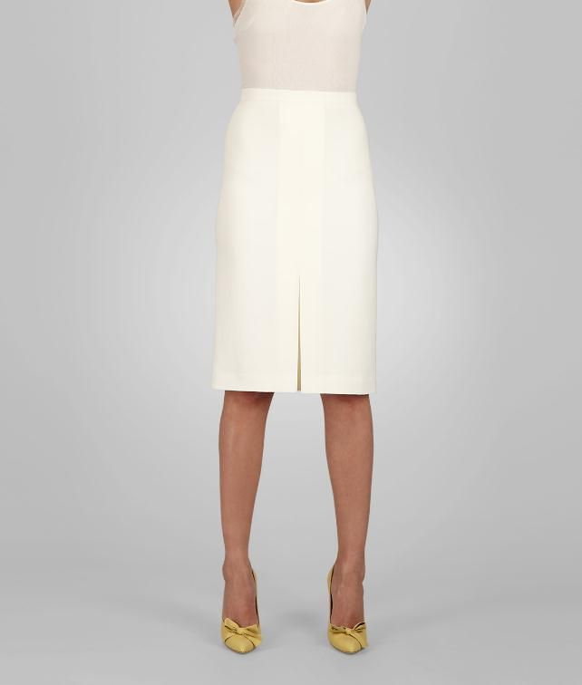 BOTTEGA VENETA Crepe Skirt Skirt or trouser D fp