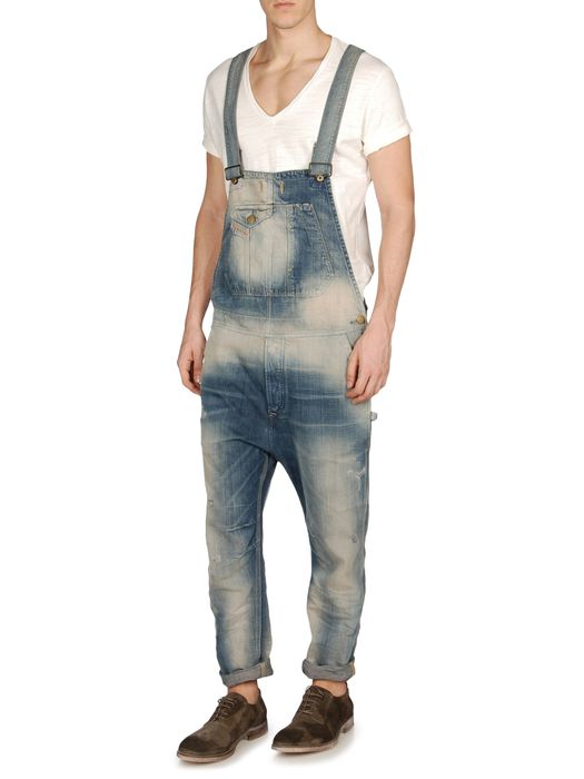 DIESEL JUMPSUITE-H-L-A-P Pantaloni U a