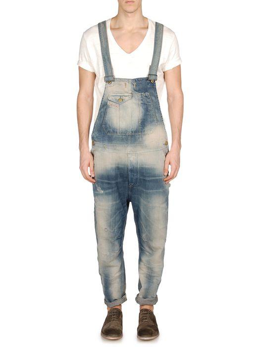 DIESEL JUMPSUITE-H-L-A-P Pantaloni U e
