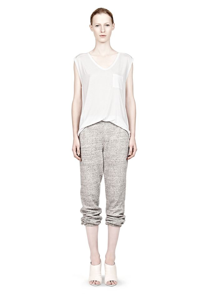 T by ALEXANDER WANG  FRENCH TERRY SWEATPANTS PANTS Adult 12_n_f