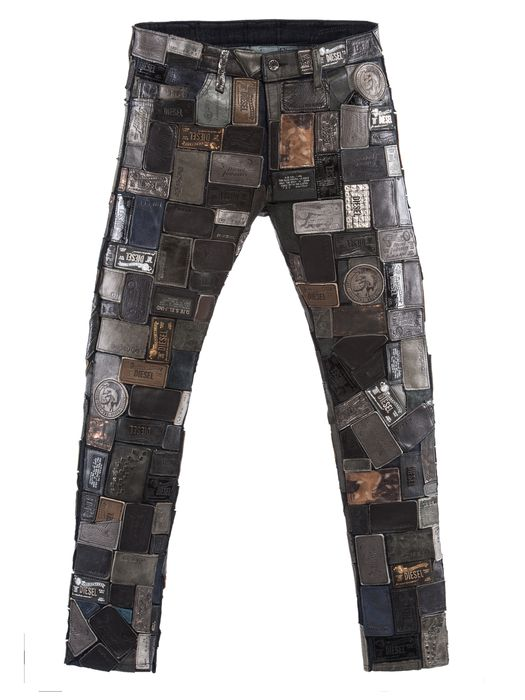 DIESEL REBOOT-BLACK-L-THAVA Pants U f