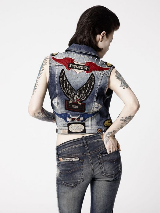 DIESEL REBOOT-DENIM-GRUPEE- Jeans D r