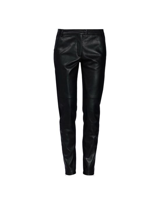 Leather pants Woman MOSCHINO CHEAP AND CHIC