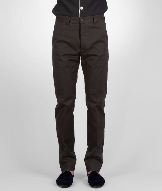 BOTTEGA VENETA Dark Navy Washed Gabardine Pant Trouser or jeans U fp