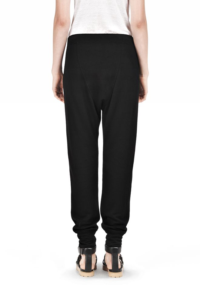 T by ALEXANDER WANG RAYON TRIBLEND SWEATPANTS PANTS Adult 12_n_d