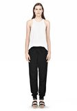 T by ALEXANDER WANG RAYON TRIBLEND SWEATPANTS PANTS Adult 8_n_f