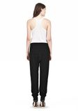 T by ALEXANDER WANG RAYON TRIBLEND SWEATPANTS PANTS Adult 8_n_r
