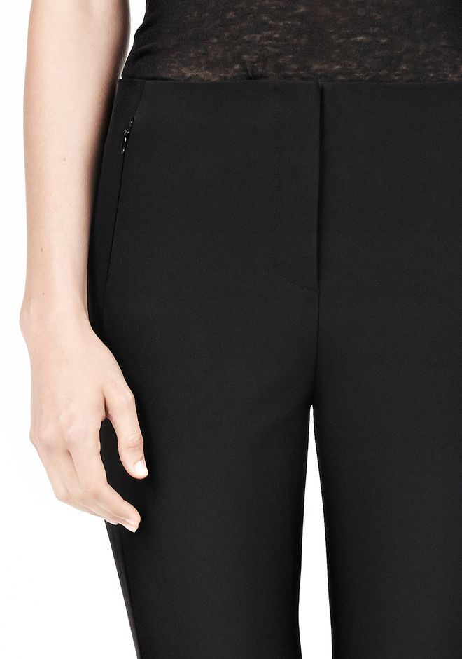 T by ALEXANDER WANG TECH SUITING SKINNY PANTS PANTS Adult 12_n_a