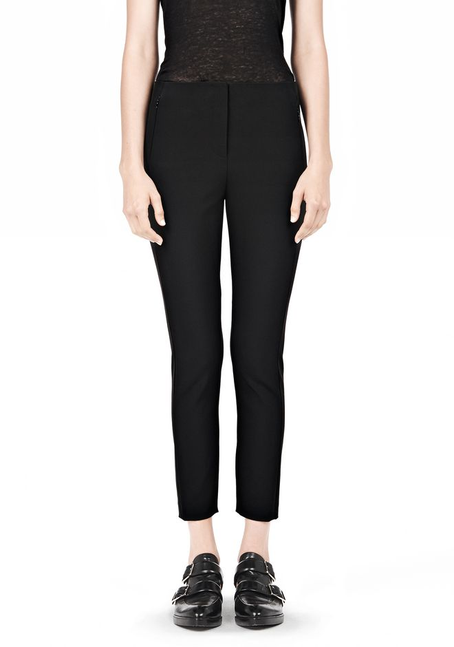 T by ALEXANDER WANG TECH SUITING SKINNY PANTS PANTS Adult 12_n_e