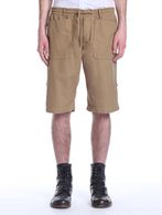 DIESEL BLACK GOLD PATAKKY-LOOP Shorts U f