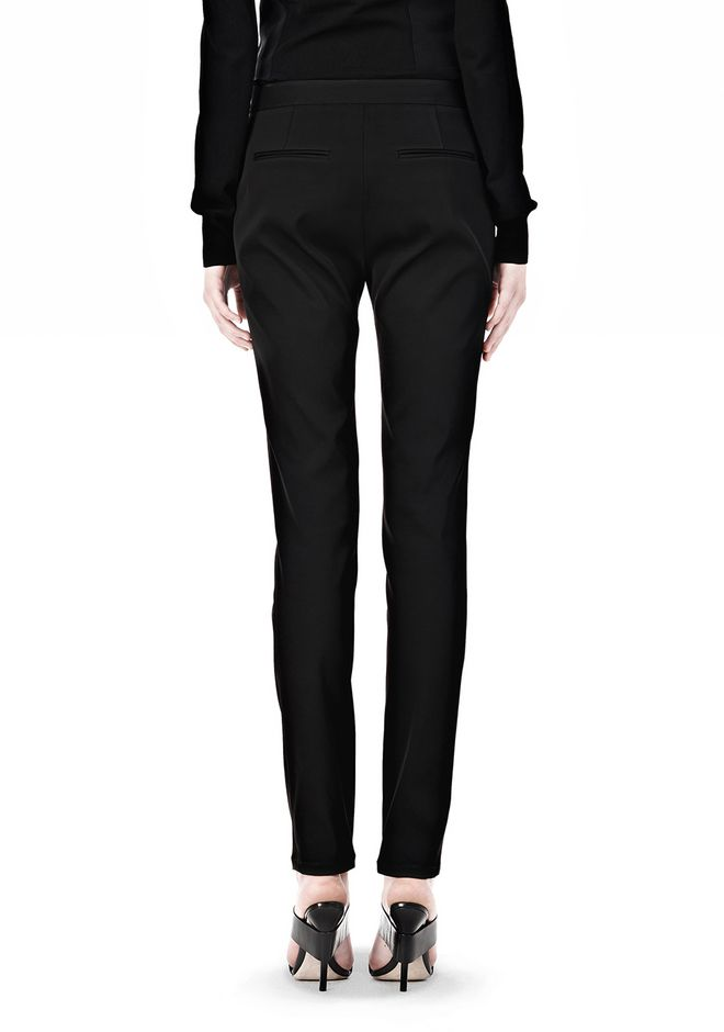 ALEXANDER WANG PINTUCKED SKINNY PANT PANTS Adult 12_n_a