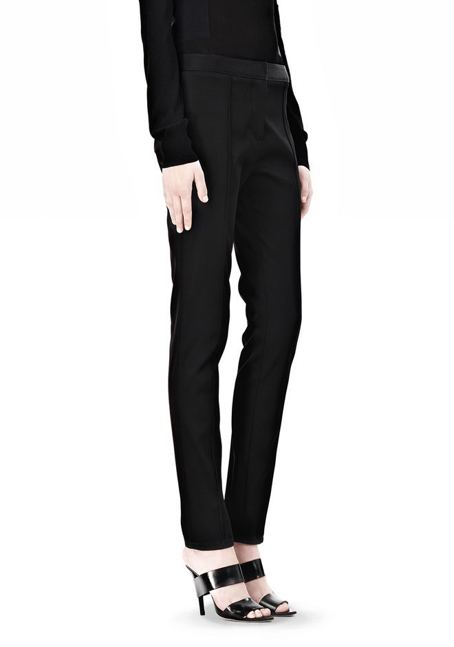 ALEXANDER WANG PINTUCKED SKINNY PANT PANTS Adult 12_n_e