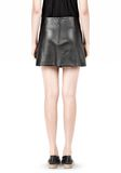 T by ALEXANDER WANG LIGHTWEIGHT A-LINE LEATHER SKIRT Skirt/DEL Adult 8_n_d