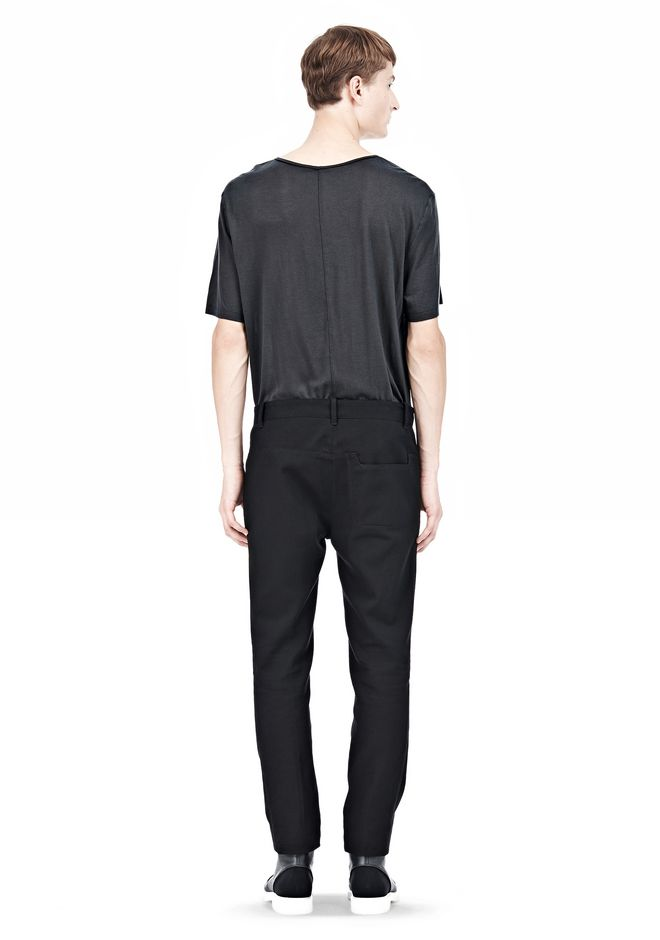 ALEXANDER WANG DRESS TROUSER WITH COIN POCKET DETAIL PANTS Adult 12_n_r