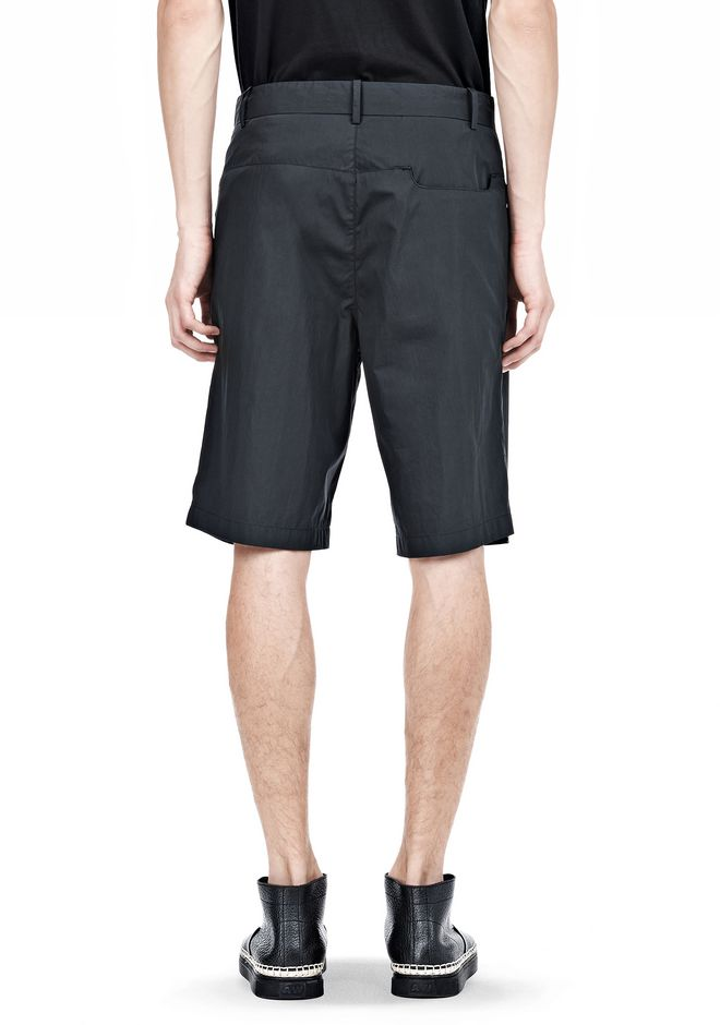ALEXANDER WANG PLEATED SHORTS SHORTS Adult 12_n_a