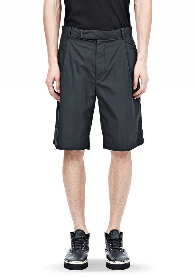 ALEXANDER WANG PLEATED SHORTS SHORTS Adult 12_n_d