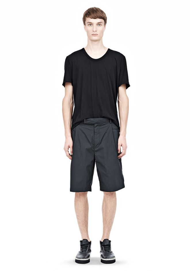 ALEXANDER WANG PLEATED SHORTS SHORTS Adult 12_n_f