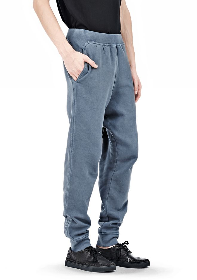 T by ALEXANDER WANG VINTAGE FLEECE SWEATPANTS PANTS Adult 12_n_e