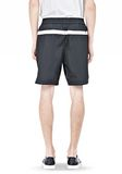 T by ALEXANDER WANG SWIM NYLON GRID PANEL TRUNKS SHORTS Adult 8_n_d