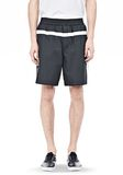 T by ALEXANDER WANG SWIM NYLON GRID PANEL TRUNKS SHORTS Adult 8_n_e
