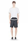 T by ALEXANDER WANG SWIM NYLON GRID PANEL TRUNKS SHORTS Adult 8_n_f