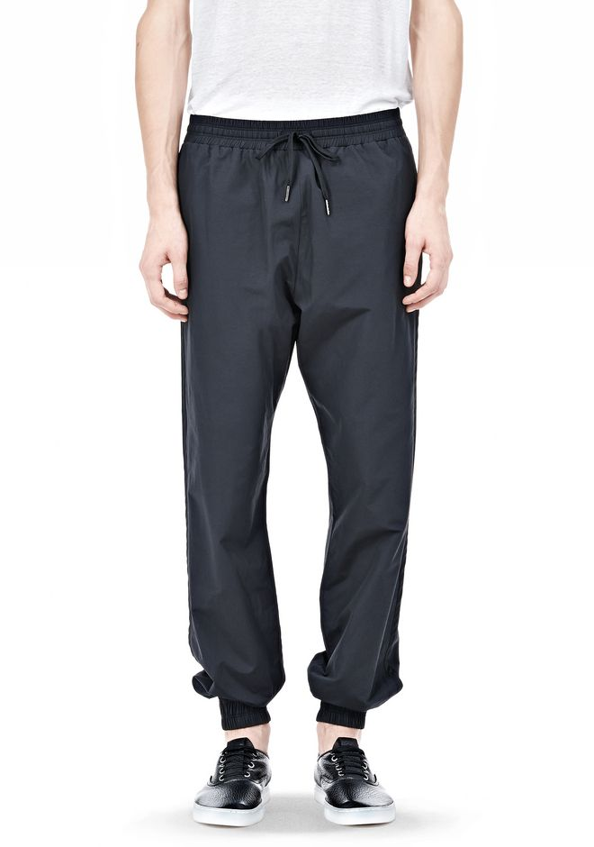 LIGHTWEIGHT NYLON TRACK PANTS | PANTS