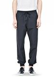 T by ALEXANDER WANG LIGHTWEIGHT NYLON TRACK PANTS PANTS Adult 8_n_d