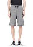 T by ALEXANDER WANG SPECKLED FRENCH TERRY SHORTS SHORTS Adult 8_n_d