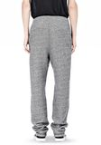 T by ALEXANDER WANG SPECKLED FRENCH TERRY SWEATPANTS PANTS Adult 8_n_a