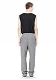 T by ALEXANDER WANG SPECKLED FRENCH TERRY SWEATPANTS PANTS Adult 8_n_r