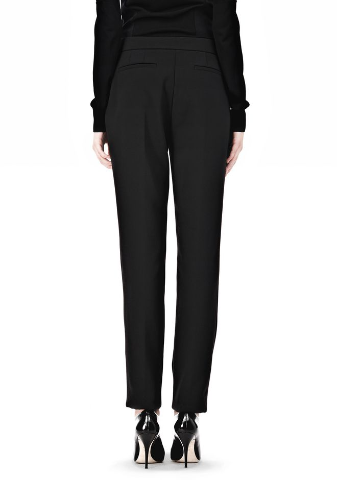 ALEXANDER WANG LOW WAISTED TROUSER PANTS Adult 12_n_a
