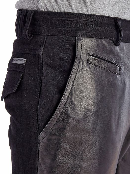 DIESEL BLACK GOLD PINLEAT Pantaloni U a
