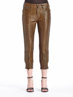 DIESEL BLACK GOLD PECUNIA-L Pants D f