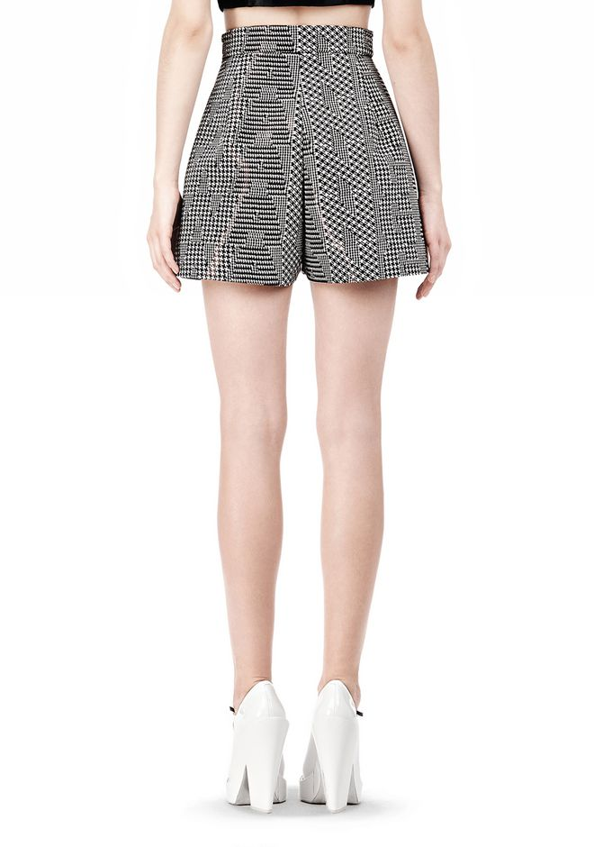A LINE SHORT WITH SEAMED IN POCKET | SHORTS | Alexander Wang ...