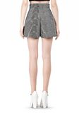 ALEXANDER WANG A-LINE SHORT WITH SEAMED IN POCKET SHORTS Adult 8_n_a